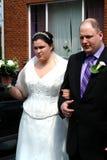 耦合婚礼 库存图片