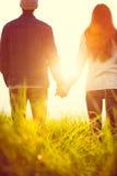 耦合爱年轻人 库存图片