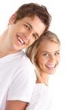 耦合爱年轻人 免版税库存图片