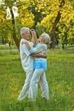 耦合跳舞前辈 库存图片