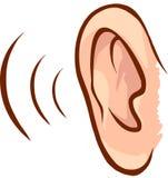 耳朵 库存图片