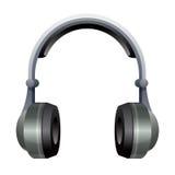 耳机例证 免版税库存图片