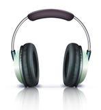 耳机图标 免版税库存图片