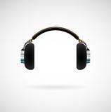 耳机图标 库存照片