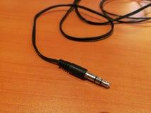 耳机插座 免版税库存照片