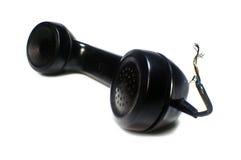 耳机电话 免版税库存图片