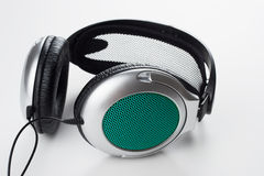 耳机音乐 免版税库存图片