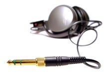 耳机 免版税图库摄影