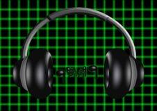 耳机4 免版税库存图片