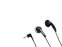 耳机minijack立体音响 免版税图库摄影