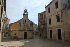 耶尔萨-圣约翰教会  库存照片