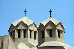 耶烈万大教堂 免版税图库摄影