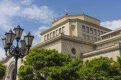 耶烈万,亚美尼亚- 2016年5月02日:历史博物馆和Nati 免版税图库摄影