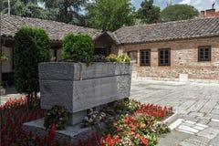 耶稣上生的东正教和戈采代尔切夫坟墓在斯科普里, R 库存图片
