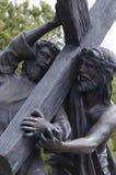 耶稣为我们死了 图库摄影