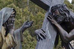 耶稣为我们死了 免版税库存照片