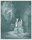 耶稣例证的复活 免版税库存照片