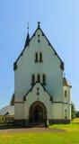 耶稣入口的神圣的心脏的教会 免版税库存照片