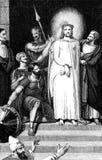 耶稣加冠了与刺 免版税库存照片