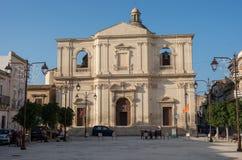 耶稣受难象的基耶萨del Santissimo Crocifisso教会没有 免版税库存照片
