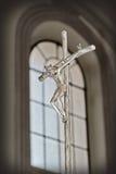 耶稣受难象的耶稣 图库摄影