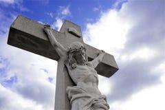 耶稣受难象 图库摄影