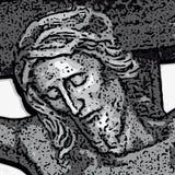 耶稣向量 库存照片