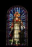 耶稣和圣玛格丽特玛丽Alacoque 免版税图库摄影