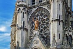 耶稣圣心教会在里尔 免版税库存图片