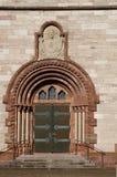 耶稣圣心教会门户在埃特林根 免版税库存图片
