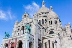 耶稣圣心教会-巴黎 库存图片