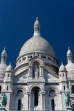 耶稣圣心的大教堂,巴黎,法国 库存照片