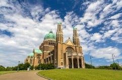 耶稣圣心-布鲁塞尔的大教堂 免版税图库摄影