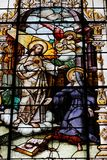 耶稣圣心andSt玛格丽特玛丽Alacoque 免版税库存图片