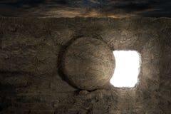 耶稣坟茔 免版税库存照片