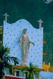 耶稣基督亚洲的最大的(36英尺)雕象  库存图片