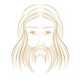 耶稣基督例证 图库摄影