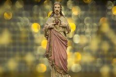耶稣基督圣子-救世 库存图片