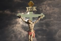 耶稣基督圣子-救世 免版税图库摄影