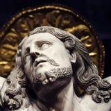 耶稣基督在十字架上钉死  免版税库存照片