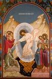 耶稣基督的复活的象 免版税库存图片