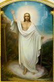 耶稣基督的复活的象 库存照片