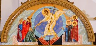 耶稣基督的复活的象 库存图片