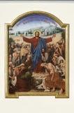 耶稣基督的绘画 图库摄影
