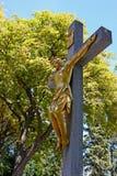 耶稣基督耶稣受难象 免版税库存照片