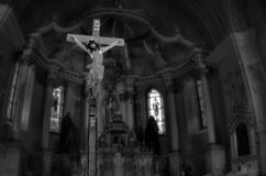 耶稣基督迫害 库存图片