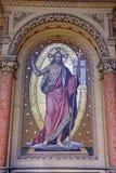 耶稣基督,马赛克 免版税库存图片