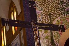 耶稣基督-发怒细节 库存照片
