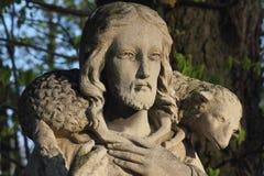 耶稣基督-好牧羊人 库存图片