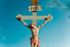 耶稣基督INRI 免版税库存照片